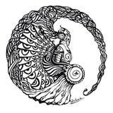 CAVALEIROS ilustração do vetor