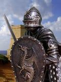 Cavaleiros & armadura imagem de stock royalty free