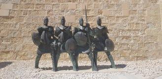 Cavaleiros de malta fotos de stock royalty free