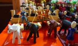 Cavaleiros do transporte Fotos de Stock Royalty Free
