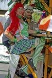 Cavaleiros do trole Foto de Stock Royalty Free