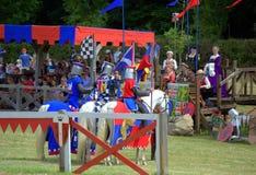 Cavaleiros e rei Henry VIII Fotografia de Stock