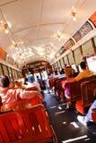 Cavaleiros históricos do carro da rua de Nova Orleães Fotografia de Stock