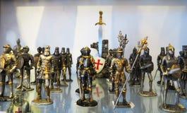 Cavaleiros medievais Foto de Stock Royalty Free