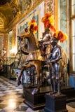 Cavaleiros medievais em cavalos Imagens de Stock Royalty Free