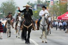 Cavaleiros Mexican-American Foto de Stock Royalty Free