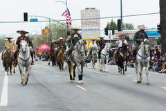 Cavaleiros Mexican-American Fotografia de Stock Royalty Free