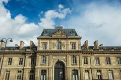 Cavalerie militaire school in Parijs, Frankrijk Royalty-vrije Stock Foto's