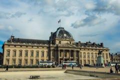 Cavalerie militaire school in Parijs, Frankrijk Stock Foto's