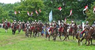 Cavalerie polonaise Image libre de droits