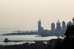 Cavalete de Qingdao foto de stock royalty free