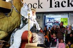 Cavalgada da parada dos três Reis Magos Fotos de Stock Royalty Free