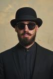 Cavalheiro com chapéu de jogador Imagem de Stock Royalty Free