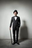 Cavalheiro elegante foto de stock royalty free