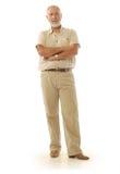 Cavalheiro mais idoso Fotografia de Stock Royalty Free