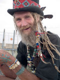 Cavalheiro mais idoso excêntrico Foto de Stock Royalty Free