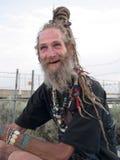 Cavalheiro mais idoso excêntrico Imagem de Stock Royalty Free