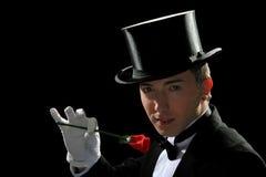 Cavalheiro novo fino Imagens de Stock