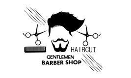 Cavalheiros Barber Shop ilustração do vetor