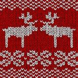 Cavalier avec des rennes Photos libres de droits