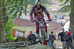 Cavalier de Dougie Lampkin Trials Photos stock