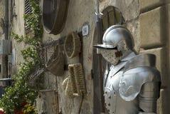 Cavalier de medieval imagen de archivo