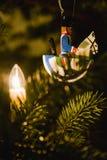 Cavalier de Noël Photos libres de droits