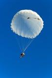 Cavalier de parachute Photographie stock
