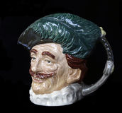 The Cavalier Toby Jug. Royalty Free Stock Images