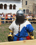 Cavaliere Fotografie Stock Libere da Diritti