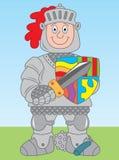 Cavaliere in armatura royalty illustrazione gratis