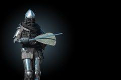 Cavaliere in armatura fotografie stock libere da diritti