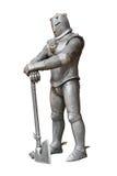 Cavaliere, armatura ed arma medioevali Fotografie Stock Libere da Diritti