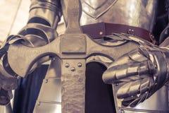 Cavaliere Armor Fotografia Stock
