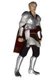 Cavaliere biondo soave royalty illustrazione gratis
