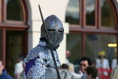 Cavaliere con la spada Fotografia Stock Libera da Diritti