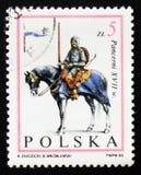 Cavaliere del cavallo, cavaliere, XVII secolo, circa 1983 Fotografie Stock Libere da Diritti