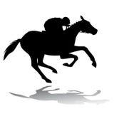 Cavaliere del cavallo, illustrazione di vettore Immagine Stock
