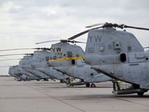 Cavaliere del mare di CH-46E Fotografia Stock
