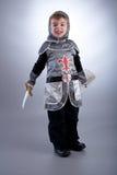 Cavaliere del ragazzo Immagini Stock Libere da Diritti