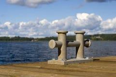 Cavaliere dell'ancoraggio Fotografia Stock