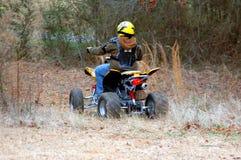 Cavaliere di ATV Fotografia Stock Libera da Diritti