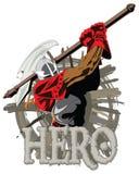 Cavaliere di fantasia illustrazione vettoriale