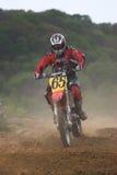 Cavaliere di motocross Immagine Stock Libera da Diritti