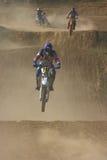 Cavaliere di motocross Immagini Stock Libere da Diritti