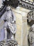 Cavaliere di pietra Immagini Stock