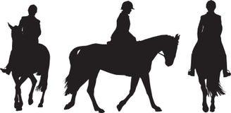 Cavaliere equestre Immagine Stock Libera da Diritti