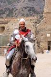 Cavaliere. Festival del casco di Genova Immagine Stock