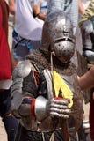 Cavaliere. Festival del casco di Genova Immagini Stock
