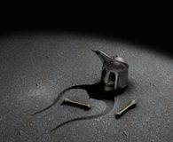 Cavaliere guasto Fotografia Stock Libera da Diritti